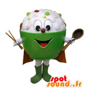 Mascot kom gevuld met Aziatische gerechten - MASFR031236 - mascottes objecten
