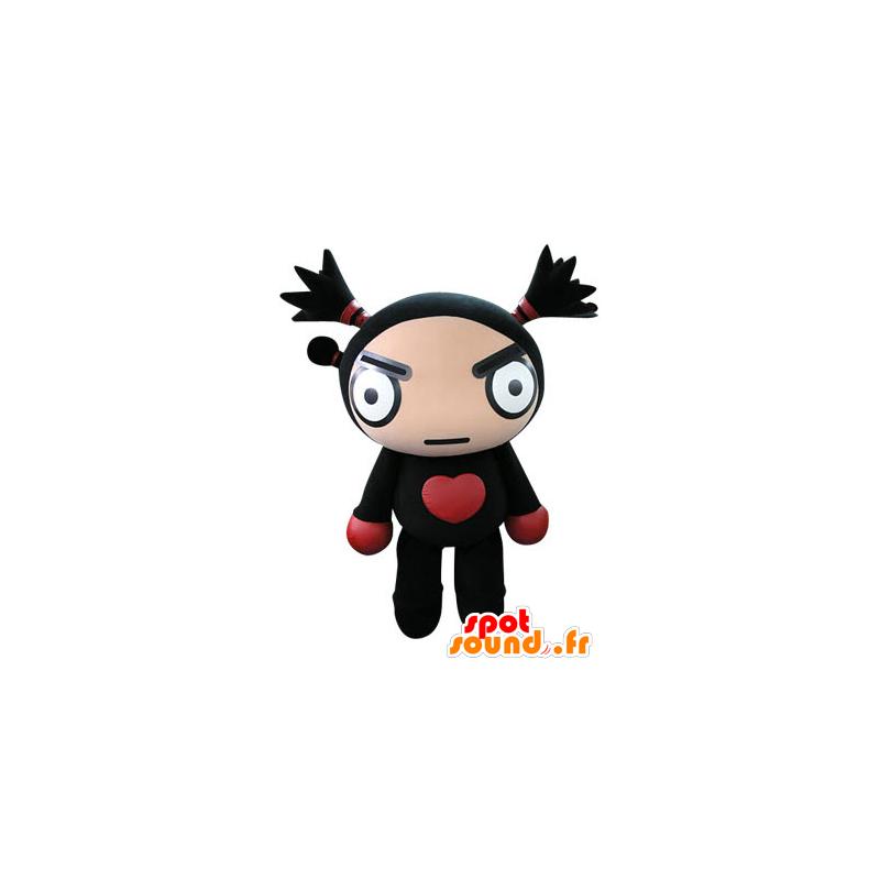 Schwarze Puppe