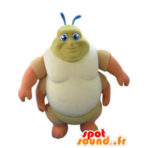 Caterpillar mascot, a thousand feet. insect mascot - MASFR031259 - Mascots insect