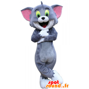 Mascotte de Tom, le célèbre chat du dessin animé Tom et Jerry - MASFR031287 - Mascottes Tom and Jerry