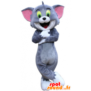 Tom maskot, den berømte tegneserie katten Tom og Jerry - MASFR031287 - Mascottes Tom and Jerry
