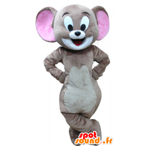 Jerry mascot, the famous mouse cartoon Tom and Jerry - MASFR031288 - Mascots Tom and Jerry
