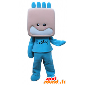 Mascot child, dressed in blue boy - MASFR031289 - Mascots child