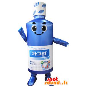 Mascotte de lotion mentholée pour la bouche