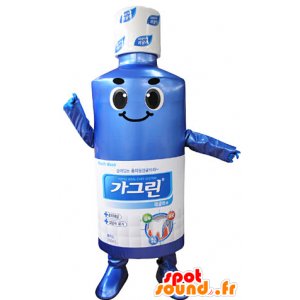 Menthol lotion mascot for the mouth