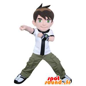 Boy mascot to video game character - MASFR031334 - Mascots boys and girls