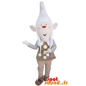 Leprechaun mascot with pointy ears and a cap - MASFR031363 - Christmas mascots