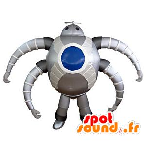 Robot maskot, futuristisk edderkopp - MASFR031371 - Ikke-klassifiserte Mascots