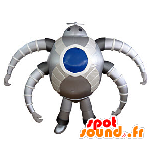 Robot maskotti, futuristinen hämähäkki - MASFR031371 - Mascottes non-classées