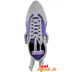 Mascot purple and white shoe. Mascot Basketball - MASFR031396 - Mascots of objects