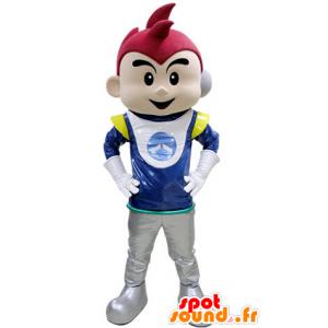 Poika Mascot järjestetään astronautti - MASFR031407 - Maskotteja Boys and Girls