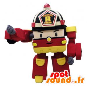 Palomies tapa Muuntajat Truck Mascot - MASFR031435 - Mascottes d'objets