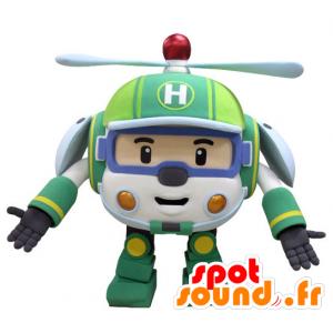 Brinquedo mascote helicóptero para as crianças - MASFR031436 - mascotes criança