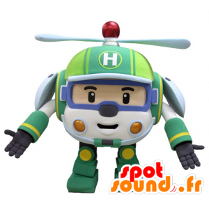 Helicopter mascotte speelgoed voor kinderen - MASFR031436 - mascottes Child