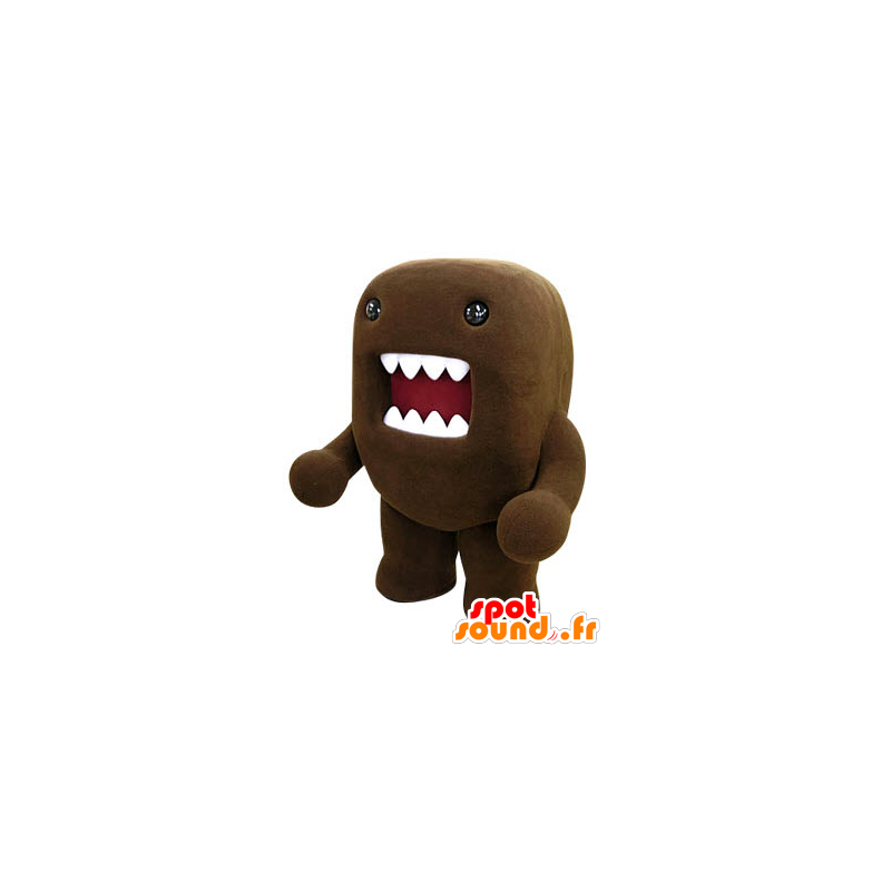 purchase mascot domo kun brown monster with a big mouth in mascots