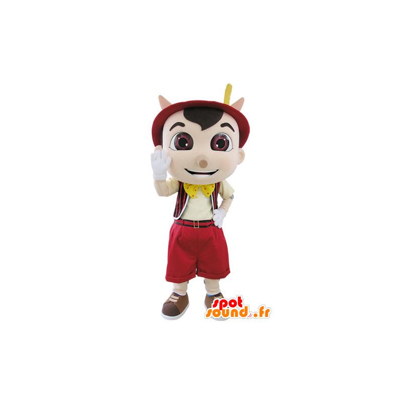 Mascot Pinocchio famous puppet cartoon - MASFR031509 - Mascots Pinocchio