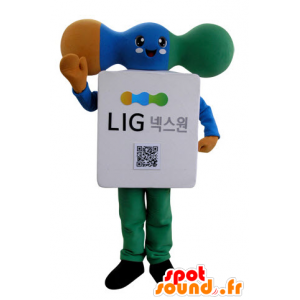 Modem mascot, electronic component - MASFR031523 - Mascots of objects