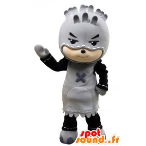 Mascot lapsi naamioitu pyöveli. lapsi maskotti - MASFR031534 - Mascottes Enfant