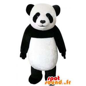 La mascota de la panda negro y blanco, hermoso y realista - MASFR031553 - Mascota de los pandas