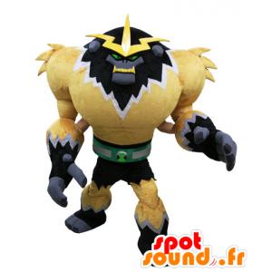 La mascota del monstruo de videojuegos. gorila mascota futurista