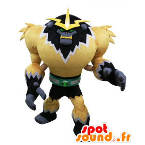 Mascotte de monstre de jeu vidéo. Mascotte de gorille futuriste