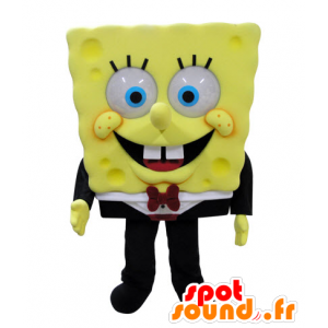Mascot SpongeBob, famous cartoon character
