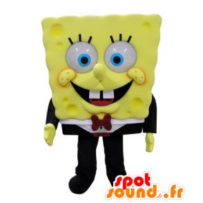 Mascot SpongeBob, famous cartoon character - MASFR031571 - Mascots Sponge Bob