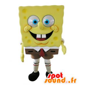 Mascot SpongeBob, famous cartoon character - MASFR031572 - Mascots Sponge Bob