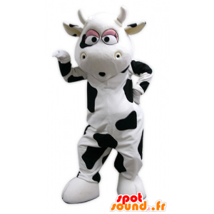 Mascot giant cow, black and white - MASFR031586 - Mascot cow