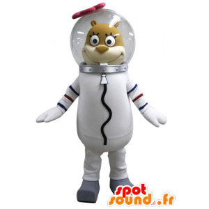 Mascot squirrel Sandy, famous character in SpongeBob