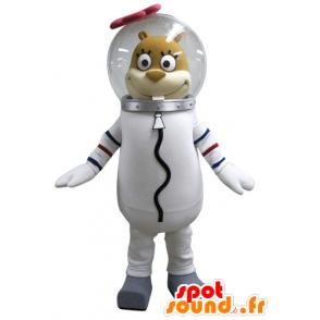 Mascot squirrel Sandy, famous character in SpongeBob - MASFR031589 - Mascots Sponge Bob