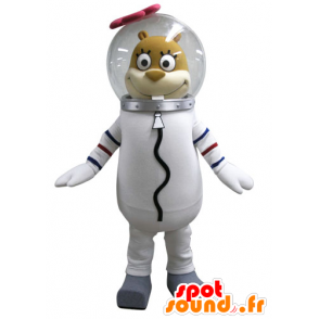 Mascotte de Sandy écureuil, célèbre personnage dans Bob l'éponge - MASFR031589 - Mascottes Bob l'éponge