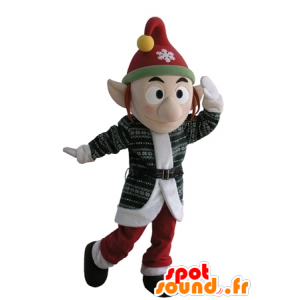 Leprechaun mascot with hat and pointy ears - MASFR031617 - Christmas mascots