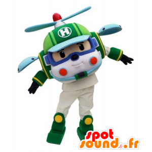 Helicopter mascot toy for children
