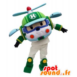 Brinquedo mascote helicóptero para as crianças - MASFR031689 - mascotes criança