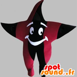 Mascotte stella gigante, nero e rosso - MASFR031758 - Mascotte non classificati