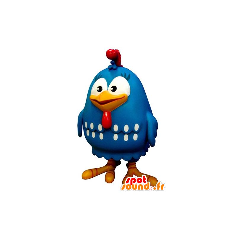 Maskotka gigant kura, Bluebird, biały i czerwony - MASFR031797 - ptaki Mascot