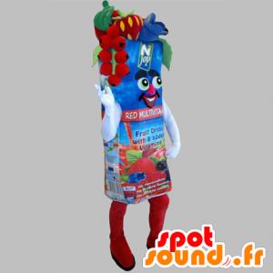 La mascota de la fruta gigante de jugo de ladrillo - MASFR031820 - Mascota de la fruta