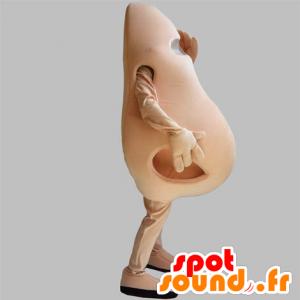 Mascotte en forme de nez rose, géant. Mascotte de nez - MASFR031843 - Mascottes non-classées