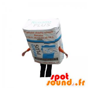 Maskotti kipsi pinnoite. rakentaminen Mascot - MASFR031853 - Mascottes d'objets
