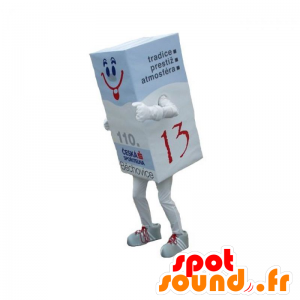 Giant papeririisin maskotti. purukumi maskotti - MASFR031856 - Mascottes d'objets