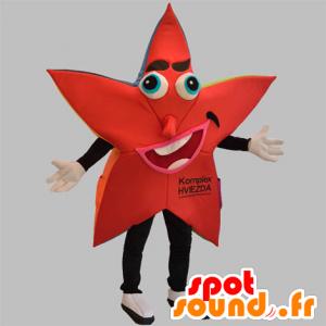 Maskotka czerwony i czarny gwiazda, gigant - MASFR031871 - Niesklasyfikowane Maskotki
