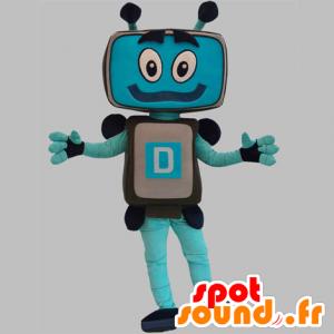 Robotmascotte, computer, tv-scherm - MASFR031875 - Niet-ingedeelde Mascottes