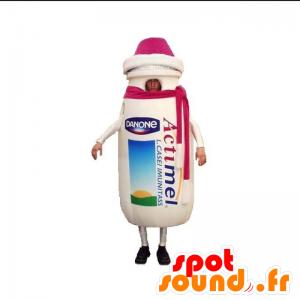 Mascotte Actimel. Mascotte de boisson lactée - MASFR031901 - Mascotte alimentaires