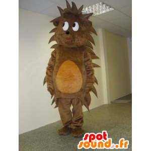 Erizo mascota marrón y naranja, dulce y linda - MASFR031940 - Mascotas erizo