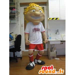 Man Maskottchen, Sport in der Sportkleidung - MASFR031955 - Sport-Maskottchen