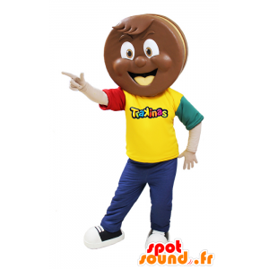 Cake Chocolate Mascot Trakinas - MASFR032046 - Maskoter bakverk