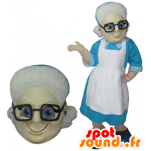 Mascot velha senhora. avó Mascot - MASFR032078 - Mascotes femininos