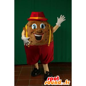 Mascotte de patate géante. Mascotte de pomme de terre