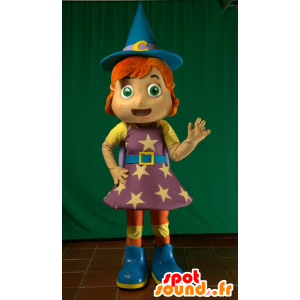 Fairy Mascot, mag, ruda czarownica